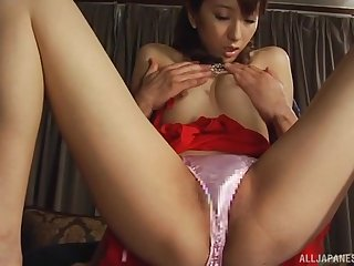 Japanese MILF Juri Kano gets their way puristic pussy pounded hard