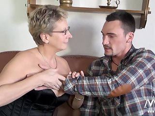 german granny is gonna fuck hung dremboat