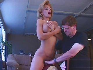 This 40 year old hag fucks machines