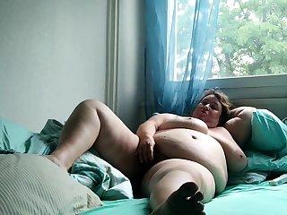 Chubby Masturbating