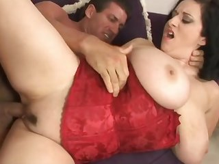 Kitty Lee gets Catdicked - big boobs milf porn