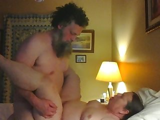 Sucks and Humping a new Friend - mature porn