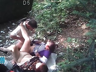 Forest play 2 women