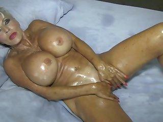 Home Movie what Real moms do for their MEN #oilfetish #masturbation - Sally Dangelo