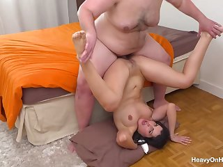 Laure Zecchi Gets Arousing Ass Fuck From A Big - brutal