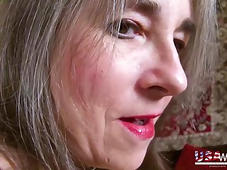 Ugly old American wives with saggy tits in homemade POV porn