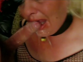 Never one to say no to oral sex this BBW is an eager slut and she's got skills