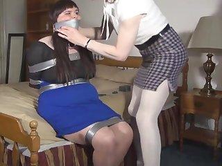 Crossdresser bondage 87