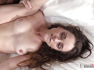 Steamy Lily Enjoys Anal Sex And Sucking Big Black Dick