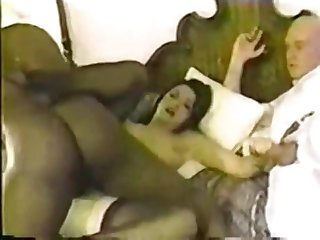 Couple Invites Black Bull In Hotel Room - Retro Cuckold