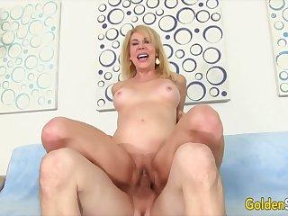 Golden Slut - Stunning Mature Blondes Getting Drilled Compilation Part 5