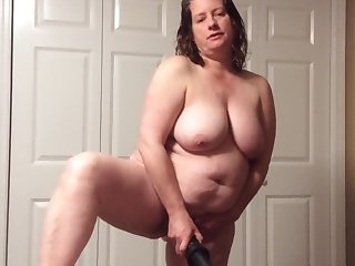 BBW mom with hairy pussy more panties and BBC fantasy