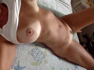 Busty GILF hot porn video - hot solo video