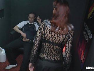 Sensual fucking between a horny client and a mature whore