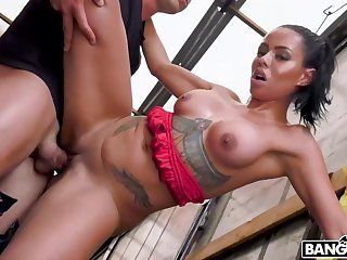 Canela Skin Enjoys Kinky Outdoor Lovemaking