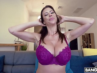 Busty mature Alexis Fawx fucked and gets her tits covered with cum