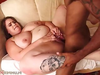 Emma's BIG BLACK PENIS - Full-Breasted emma