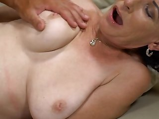 Beau gives slender mature hard drilling she wanted so much