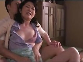 Japanese Mom caught by stepson 106