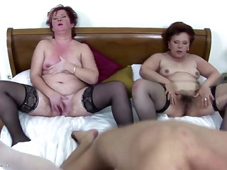 Old moms having hard sex with not their sons