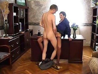 Mature Russian Stockings SM65
