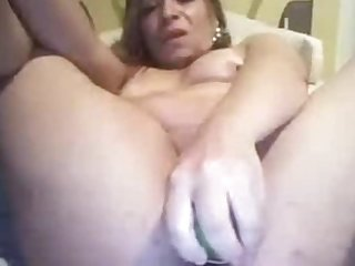 MATURE CUCUMBER IN ASS