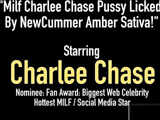 Milf Charlee Chase Pussy Licked By NewCummer Amber Sativa!