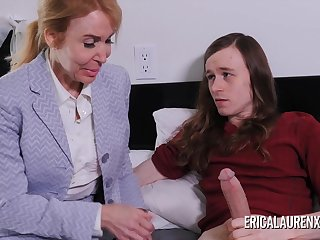 Nurse Erica Lauren makes a house call for a  guy