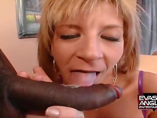Stunning Mother I´d Like To Fuck Blond Hair Lady Whore Fucks A Big Black Chopper - sara jay