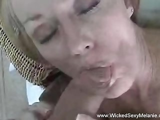 Horny granny Wicked Sexy Melanie has a good time here. She loves intense sex.