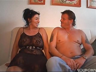 Biggi mature granny: older couple has sex