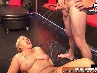 german swinger party with creampie