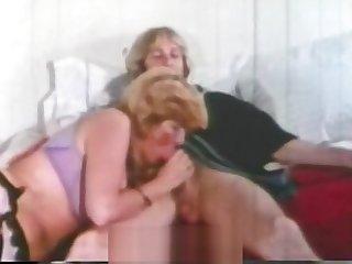 Busty Blonde Fucks Husband's Brother (1970s Vintage)