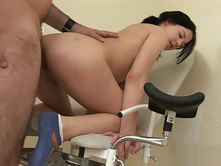 Bend Over For The Horny Cunt Check Up
