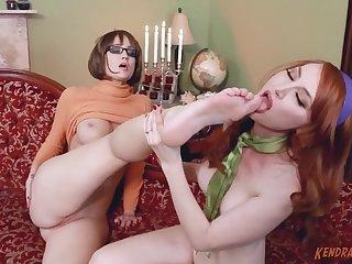 Naughty lesbian MILF Kendra James - crazy sex clip