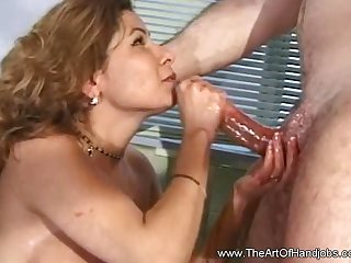 A Handjob Experience For Cock That Suffer Being Horny