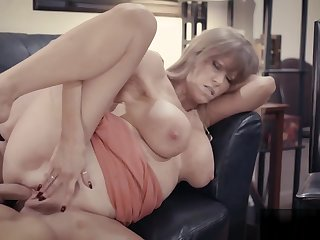 New boss fucks with hot mature secretary Darla Crane
